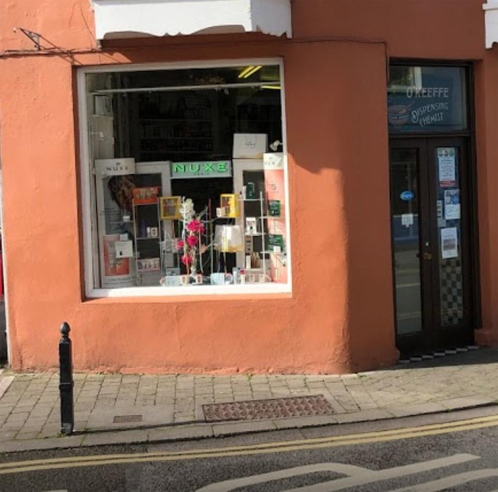 O'Keeffe's Pharmacy on Strand St, Dingle